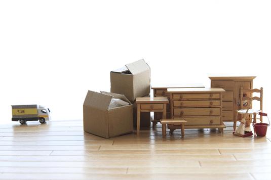 引越し時の家具などの処分